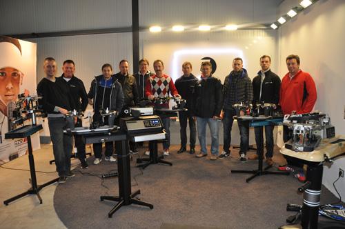 1. Workshop - Besaitungsseminar erfolgreich beendet