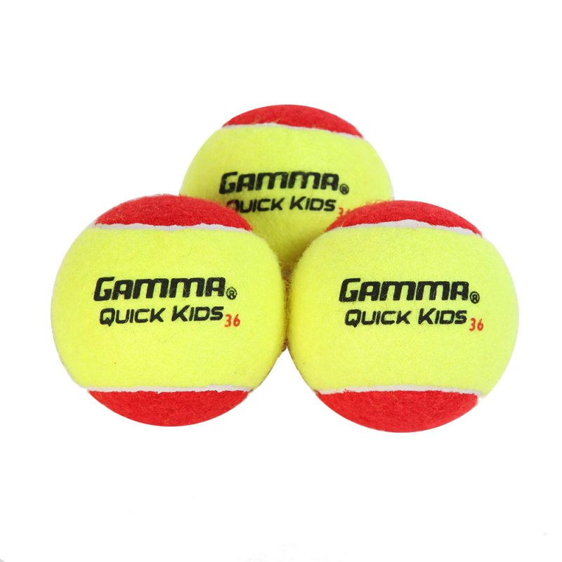 Gamma Tennisball Quick Kids (Stage 3) 3er-Pack