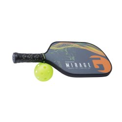 Gamma Pickleball Paddle Mirage, Orange/Gelb