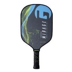 Gamma Pickleball Paddle Mirage, Blau/Gelb