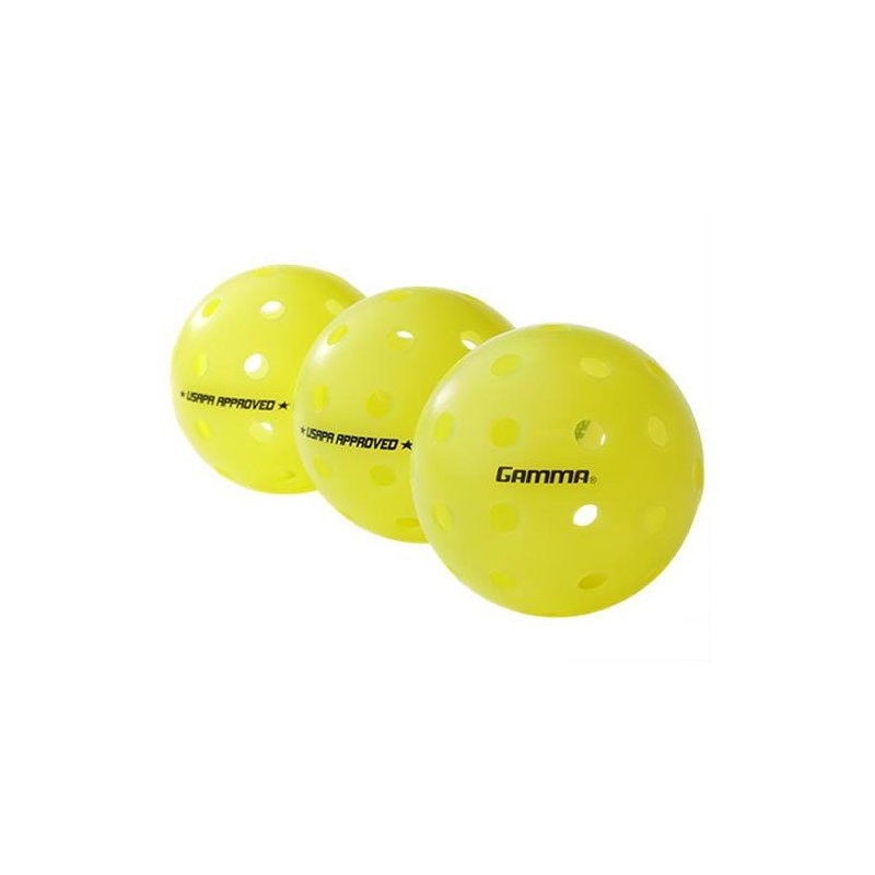 Gamma Pickleball Photon Outdoor Ball 3er-Pack