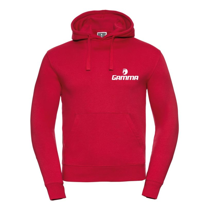 Gamma Tennis Authentic Hooded Sweat, Rot XS
