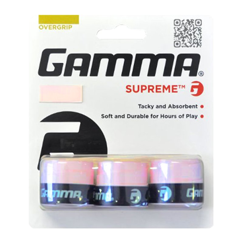 Gamma Griffband Supreme Overgrip 3er Grip Tape