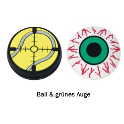 Gamma Vibrationsdämpfer String Things Ball/Grünes Auge