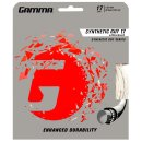 Gamma Tennissaite Synthetic Gut mit WearGuard 12,2 m Set 17 (1.27 mm) Weiß